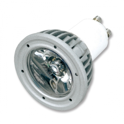 1x3W MR16 GU10 LED Spotlight