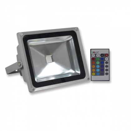 20W RGB LED flood lamp