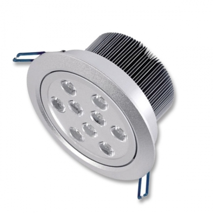 9x1W LED downlighter