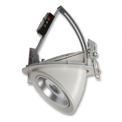9W rotatable LED downlight