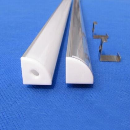 Slim corner alu LED profile