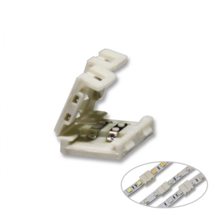 Solderless LED strip wire connector